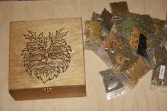 25 Herbs Box Set ,Greenman, Spell Box,Altar Kit,Wiccan Herbs