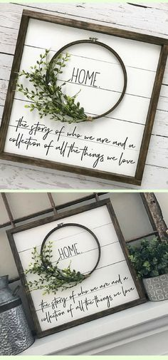 Beautiful HANDMADE shiplap wreath home decor. I love this! It will look wonderful in any home! #affiliatelink #home #decor #etsy #farmhouse