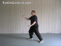 24 Form Tai Chi - Lesson 4 - Part the Horse's Mane continued  with Ian Sinclair