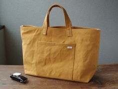 ■nori. tote canvas yellow, 2015 http://norinoomise.thebase.in/