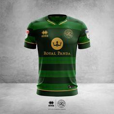 UK Kits Concepts on Behance Soccer Kits, Football Kits, Football Jerseys, Sport Shirt Design, Sports Jersey Design, Slytherin, T Shart, Soccer Uniforms, Sport Shorts