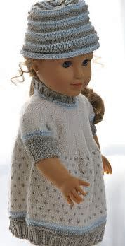 """Image result for 18"""" Doll Knit Patterns"""