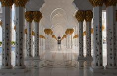 Foto Der Woche – Die Scheich-Zayid-Moschee in Abu Dhabi #AbuDhabi #VAE #ScheichZayidMoschee #Moschee