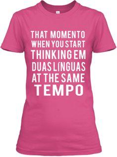 Portuguese & English Speakers Tshirts | Teespring