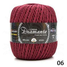 Barbante Diamante Premium nº06 400g - Bazar Horizonte Mobile