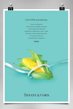 Food Waste Campaign; Parody of Luxury Brands