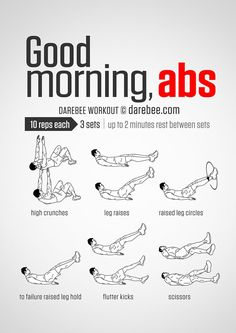 Good Morning Abs Workout