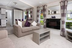 Pemberton Marlow Living Area. This holiday home is for sale! What a chance to escape to North Wales.