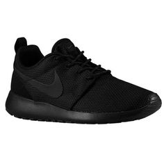 Black/Black. Think I need these bad boys for work, my pregnant feet can't keep up.