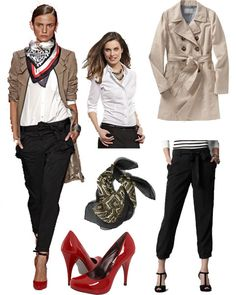 Wear with Navy pants