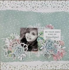 Greenhouse. Kaisercraft. Baby Scrapbook, Travel Scrapbook, Scrapbook Pages, Fancy Fold Cards, Folded Cards, Be Your Own Kind Of Beautiful, Christmas Scrapbook, Pattern Paper, Scrapbooking Layouts