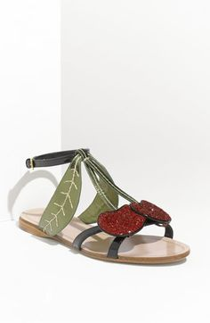 This sandal is really cute!  They were available at Nordstrom.  Didn't have a price, they are currently unavailable.