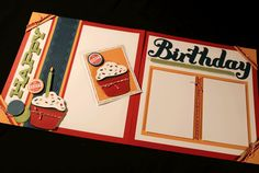 Birthday Fun with CTMH Cricut Artiste cartridge...fabulous themed shapes, titles, and 3-D projects.