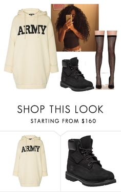 """Untitled #350"" by marea2008 ❤ liked on Polyvore featuring NLST, Timberland and Privileged"