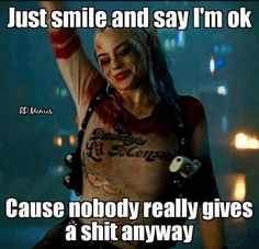New quotes truths harley quinn ideas New Quotes, Mood Quotes, True Quotes, Motivational Quotes, Funny Quotes, Inspirational Quotes, Humor Quotes, Wisdom Quotes, Just Smile Quotes