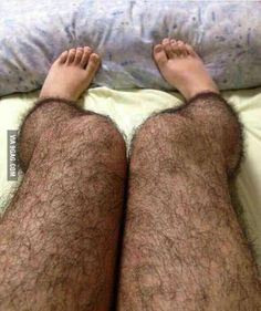 """China invented """"hairy stockings"""" for women to prevent unwanted male attention. Shut up that's hilarious"""