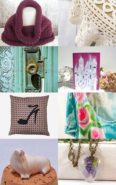 Jackie's Spring Treasures by jcstrong on Etsy--Pinned with TreasuryPin.com