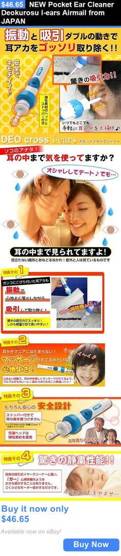 Ear Wax Removers: New Pocket Ear Cleaner Deokurosu I-Ears Airmail From Japan BUY IT NOW ONLY: $46.65