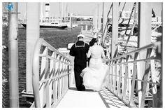 Vista Point Center Wedding | Nautical Wedding | Couple's Portraits | Bride and Groom | Norfolk Base Wedding | Daissy Torres Photography