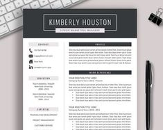 2020 Professional Resume Templates CV Bundle Compatible with Cover Letter For Resume, Cover Letter Template, Letter Templates, Creative Cv Template, Simple Resume Template, Project Manager Resume, Job Resume, Resume Writing Services, Reference Letter