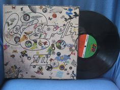 RARE Vintage Led Zeppelin  III Vinyl LP Record by sweetleafvinyl, $24.99