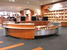 modern library circulation desk google search - Library Circulation Desk Design
