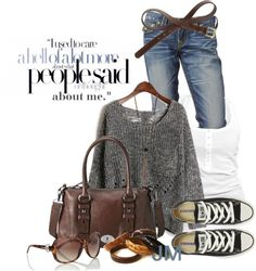 """""""I used to care"""" by jenniemitchell on Polyvore"""