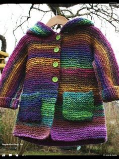 Manteau ans – aiguilles 5 – tuto – Sweet anything Manteau ans – aiguilles 5 – tuto – Sweet anything Kids Knitting Patterns, Baby Cardigan Knitting Pattern, Knitted Baby Cardigan, Knitted Coat, Knitting For Kids, Baby Patterns, Magia Do Crochet, Crochet Baby, Knit Crochet