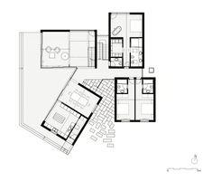 Main Floor Plan, ©PROD Arquitectura.