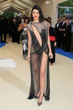 Kendall Jenner - La Perla. Met Gala 2017