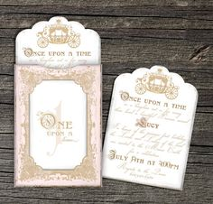 Listing for Kristy-Once Upon a Time Invitation by theblueeggevents