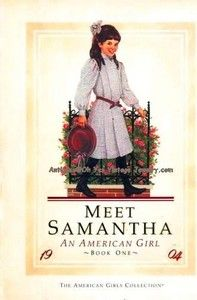 American Girls - I Loved these as a kid!  I think I was most like Samantha, and Morgan like Molly! :)