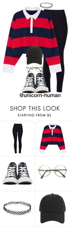 """Untitled #2905"" by unicorn-human ❤ liked on Polyvore featuring Converse, ZeroUV, Forever 21 and Armitage Avenue"