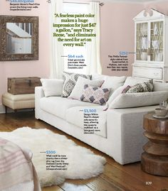 Home of Tracy Reese in Country Living Magazine