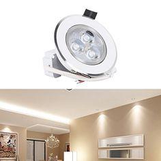 Recessed LED Lighting,TryLight 3W Dimmable 110V 240lm 500... https://www.amazon.com/dp/B01L6ZLMZE/ref=cm_sw_r_pi_dp_x_J2T2ybN0Y3T5W