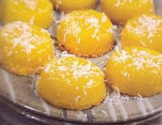 Quindim (Golden Cupcakes) from Brazil. Gluten free and delicious!
