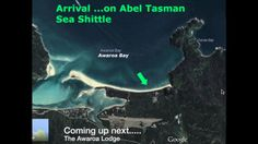 ONE: Arriving at Awaroa beach