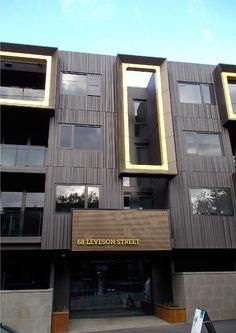 #Alucobond Facade Cladding #ACM Facade Design, Exterior Design, Modern Buildings, Modern Architecture, Cladding, Windows, Facades, Walls, Australia