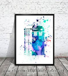Hey, I found this really awesome Etsy listing at https://www.etsy.com/listing/189976809/doctor-who-tardis-watercolour-painting