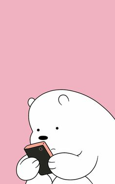 10 Top Ice Bear We Bare Bears Wallpaper Full Hd For Pc pertaining to The Most Amazing We Bare Bears Wallpaper White - All Cartoon Wallpapers Cute Panda Wallpaper, Cartoon Wallpaper Iphone, Cute Disney Wallpaper, Kawaii Wallpaper, Wallpaper Backgrounds, Trendy Wallpaper, Polar Bear Wallpaper, White Wallpaper, Iphone Cartoon