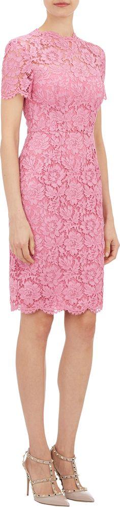 Valentino | Lace Sheath Dress