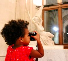 Beyonce, Jayz & Blue Ivy at The Louvre Museum in Paris October 2014