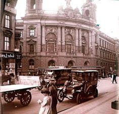 Berlin-Mitte 1913-Reichspostamt Leipzigerstrasse Ecke Mauerstrasse