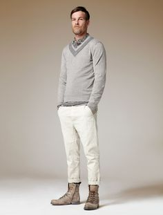 Cool Summer styling with edge. #Mens #fashion #style