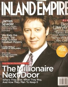 #JamesSpader's #IslandEmpire cover during #BostonLegal days. (9/2007)
