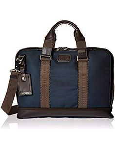 Tumi Alpha Bravo Andrews Brief. -- Learn more by visiting the image link. (This is an affiliate link) Best Handbags, Fashion Handbags, Briefcases, Tumi, Cool, Leather Men, Gym Bag, Image Link, Backpacks