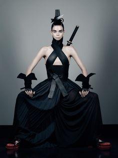 HONOR  Interview Magazine  Ph. Fabien Baron  Fashion Editor – Karl Templer  Hair – Luigi Murenu | Makeup – Francelle Daly  Model – Meghan Collison