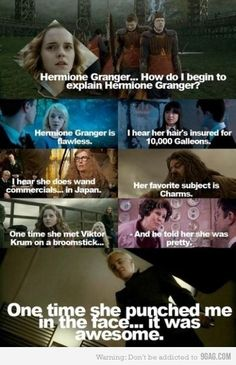 how do i even begin to explain hermione granger