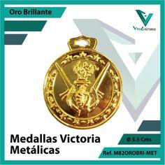 Entregamos sus Medallas en Medellin a Domicilio o Despachamos a Todo el Pais. Ref. M82OROBRI-MET Ø 6cms. Su Cotización en 20 Min. Sin Compromiso Victoria, 20 Min, Licence Plates, Engagement, Countries, Sports