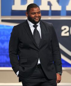 Legendary Rams offensives lineman Orlando Pace set the standard in fashion at last year's draft.